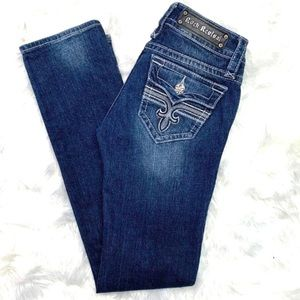 👖|•ROCK REVIVAL•|'Tori Straight'•sz 27👖